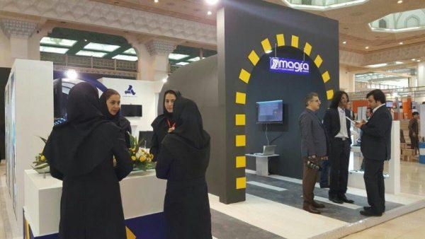 حضور مگفا در اولیننمایشگاه حمل و نقل ایران