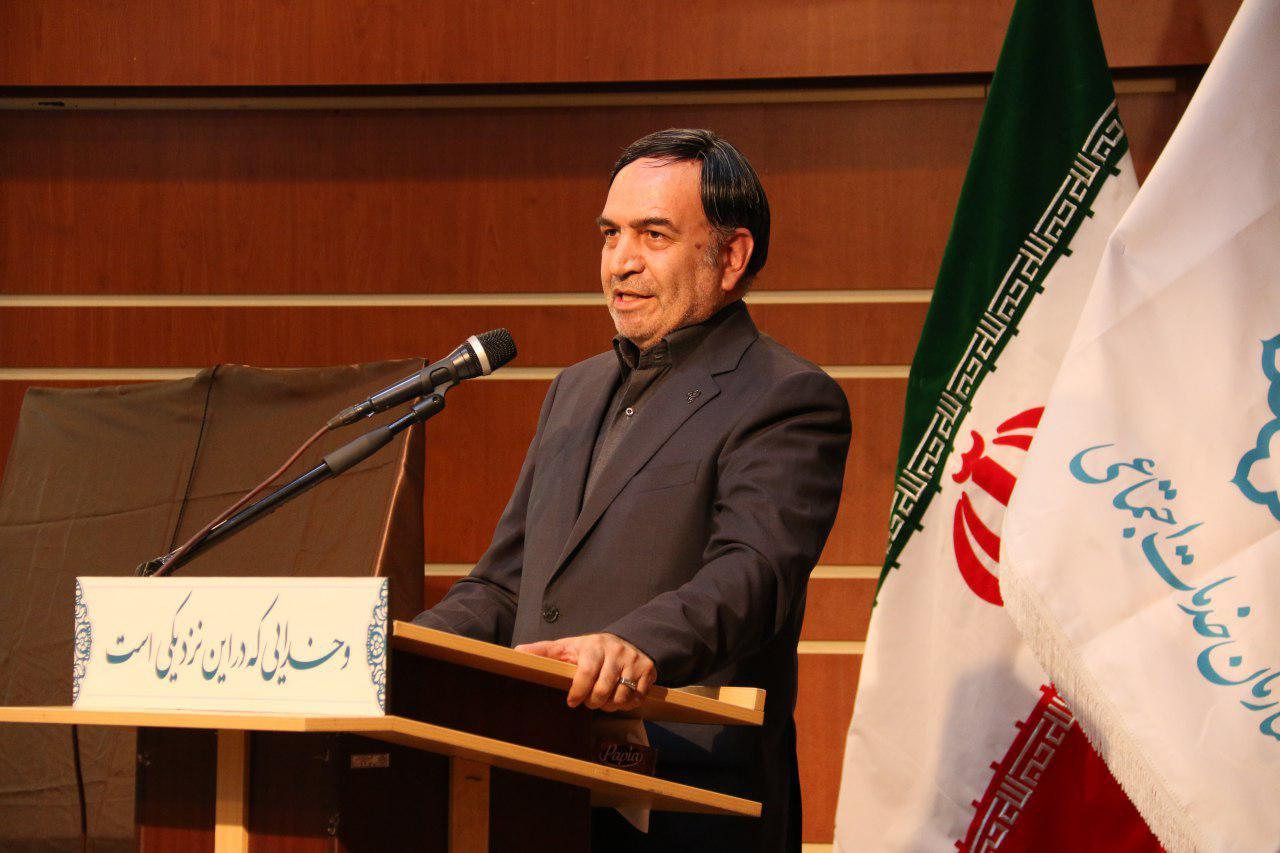 مدیرعامل سازمان مدیریت صنعتی در همایش رونمایی از پرتال مسئولیت اجتماعی شهرداری تهران