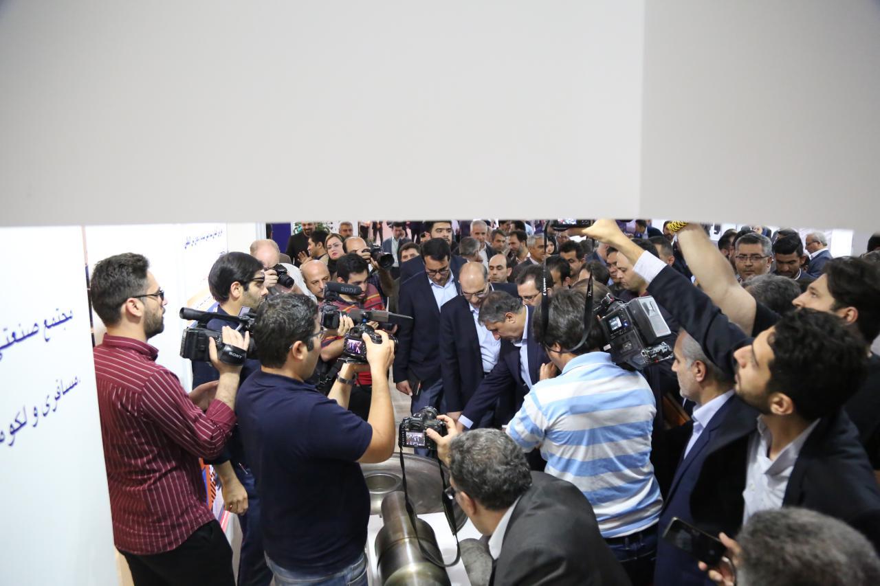پایگاه خبری آرمان اقتصادی photo_۲۰۱۹-۰۶-۰۹_۱۲-۴۶-۵۷ حضور ایدرو در هفتمین نمایشگاه بین المللی حمل و نقل ریلی