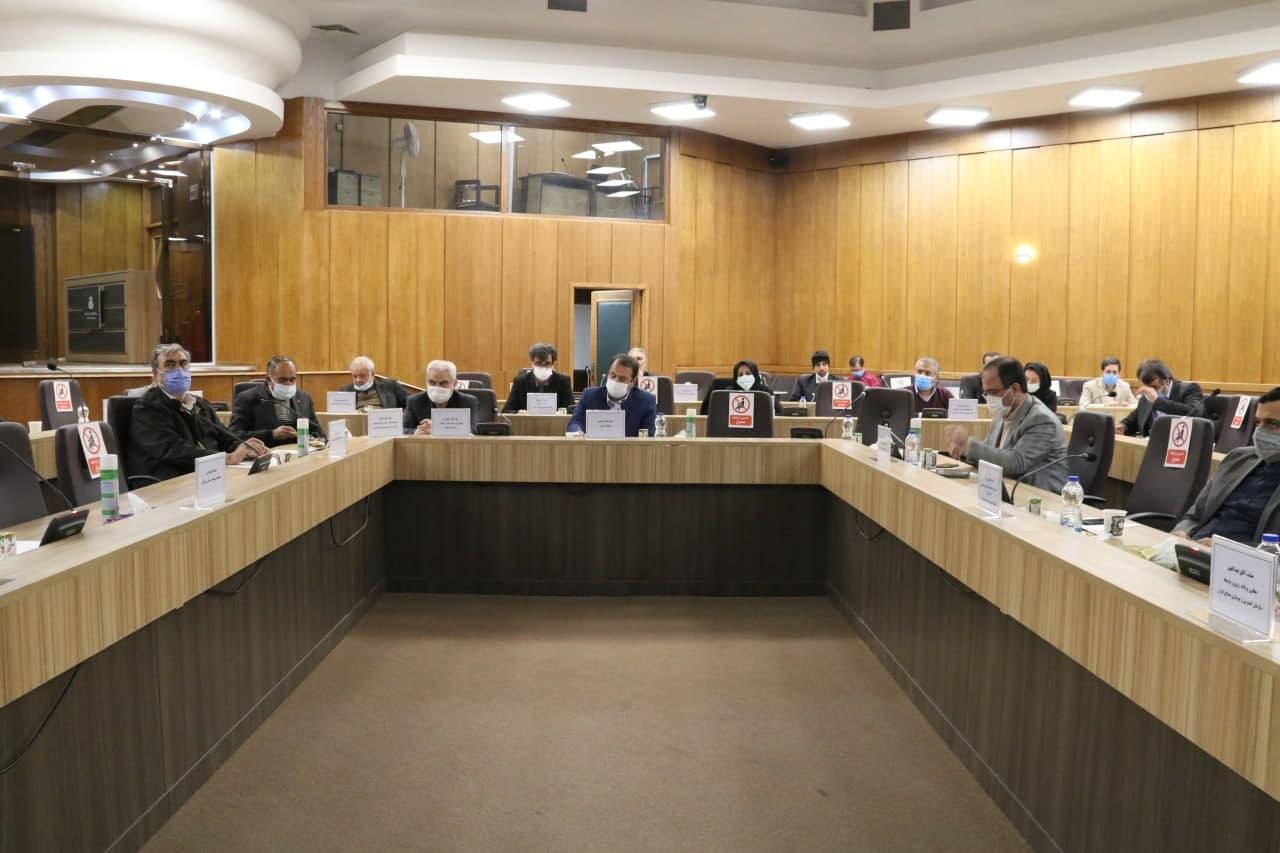 پایگاه خبری آرمان اقتصادی photo_۲۰۲۱-۰۱-۲۶_۱۷-۴۲-۰۴ گزارش تصویری نشست مشارکت طرحهای صنعتی ایدرو با سرمایه گذاران فارس